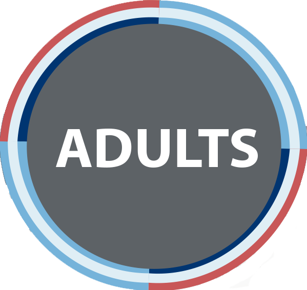 Adults button