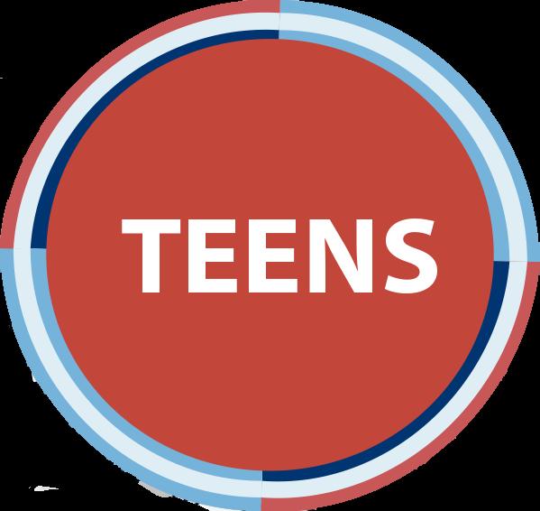 Teens button